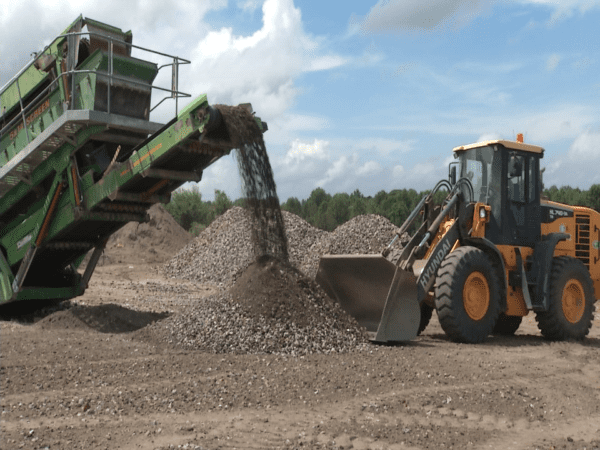 Rock Crushing in Greenville, NC - Recycling & Waste Management Company